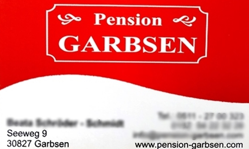 Kontakt Pension Garbsen